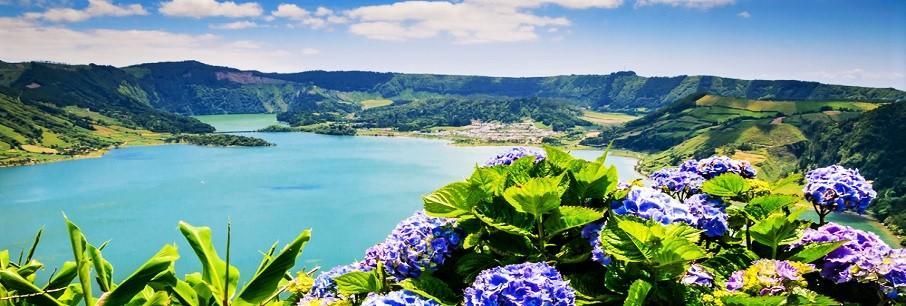 Insulele Azore & Festivalul Florilor Madeira (avion)