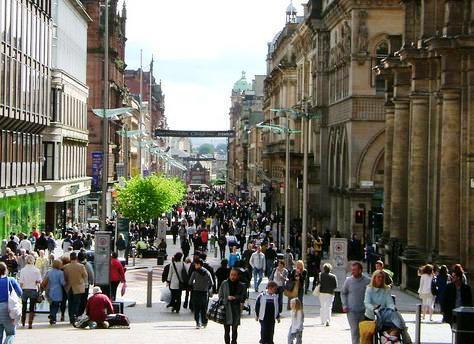 vacanta in Glasgow