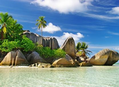 vacanta in Digue Island